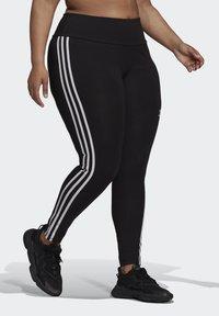 adidas Originals - 3 STRIPES ADICOLOR COMPRESSION - Legging - black - 2