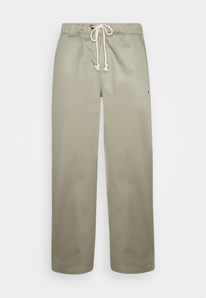STRAIGHT HEM PANTS - Trousers - olive