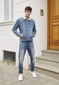 Jack & Jones - JJIMIKE JJORIGINAL  - Jeans straight leg - blue denim - 3