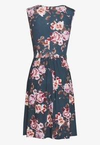 Anna Field - Jersey dress - blue/red - 1