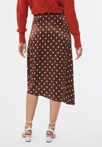 WE Fashion - A-line skirt - dark brown - 2