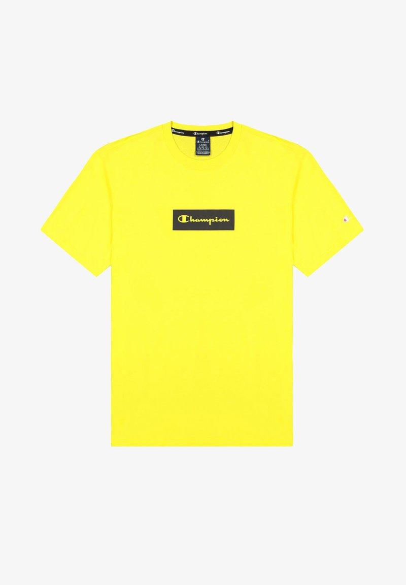 Champion - Print T-shirt - pastel yellow