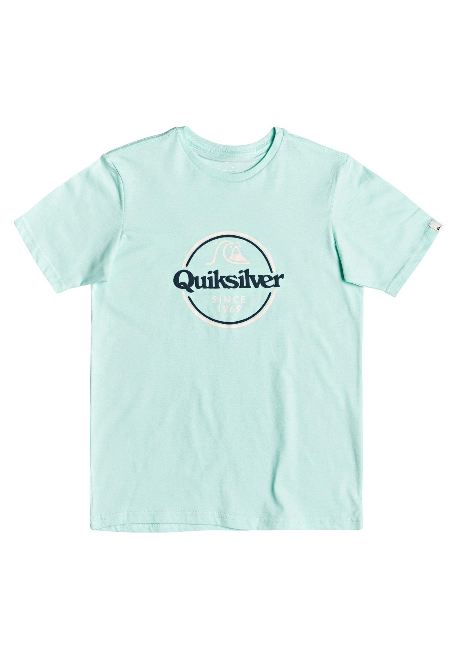 Große Förderung Quiksilver WORDS REMAIN - T-Shirt print - beach glass | Damenbekleidung 2020