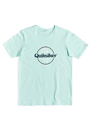 WORDS REMAIN - T-shirt print - beach glass