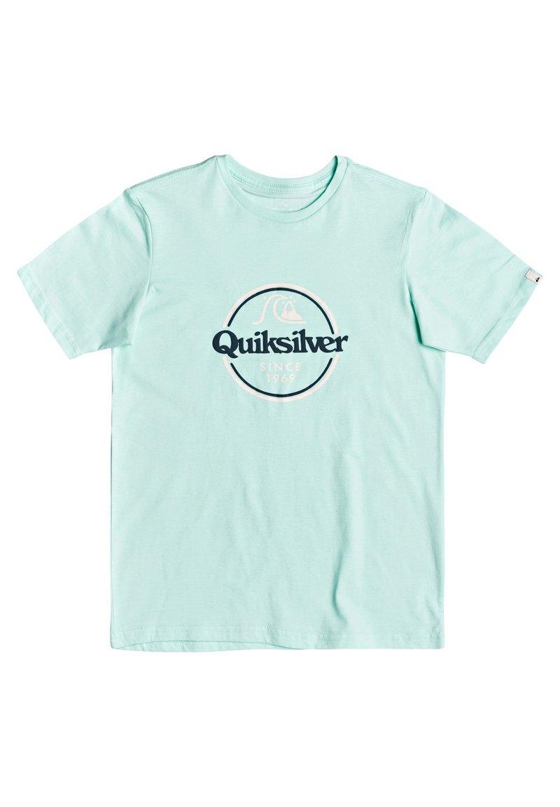 Quiksilver - WORDS REMAIN - Print T-shirt - beach glass