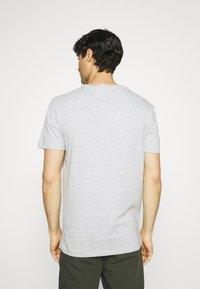 Pier One - 7 PACK - T-shirts basic - white/black/grey - 2