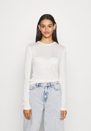KATJA LONGSLEEVE - Long sleeved top - off white