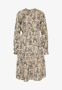 Vero Moda - VMKATE DRESS BELT - Skjortekjole - beige - 3