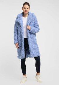 myMo - Winter coat - light blue - 1