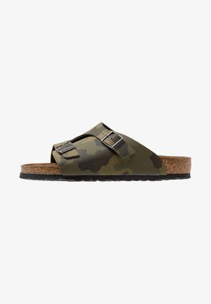 ZURICH SOFT FOOTBED - Mules - green