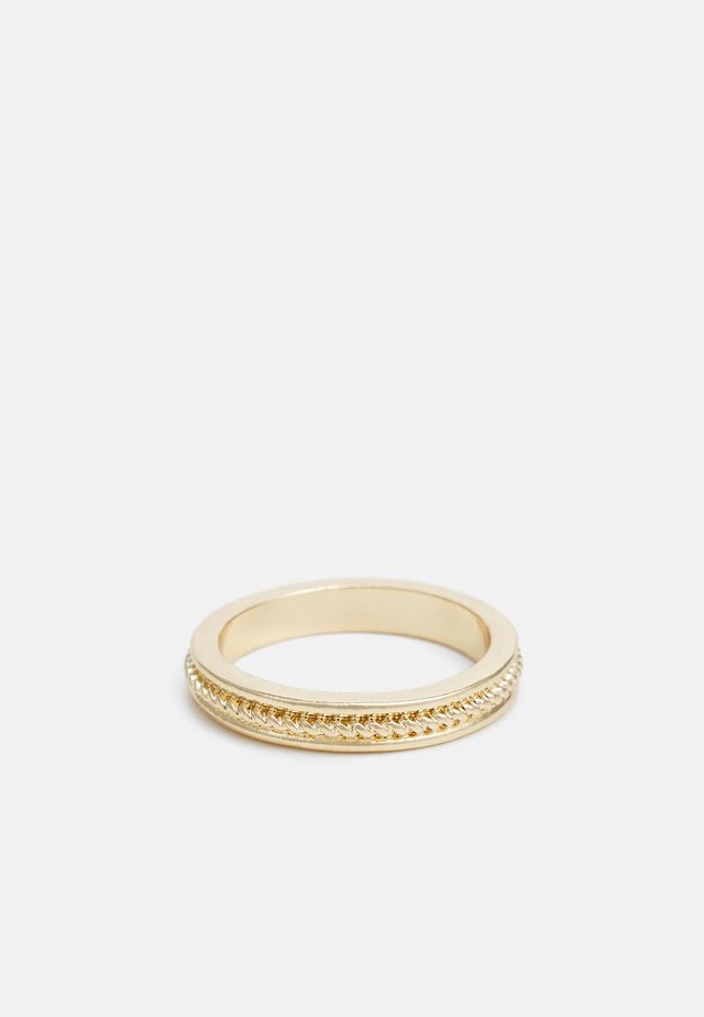 TWIST DETAIL - Ring - gold-coloured