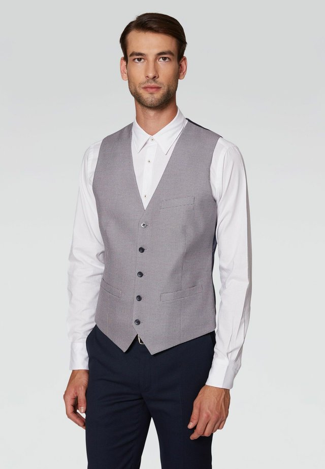 Gilet elegante - grigio chiaro