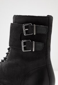 Pier One - Cowboy/biker ankle boot - black - 5