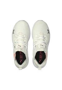 Puma - ENZO  - Neutral running shoes - puma white-ignite pink - 3