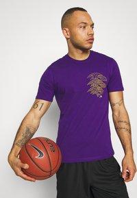 Fanatics - NFL BALTIMORE RAVENS CHAIN CORE GRAPHIC - Club wear - purple - 3