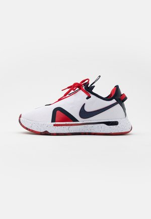 PG 4 - Zapatillas de baloncesto - white/obsidian/university red