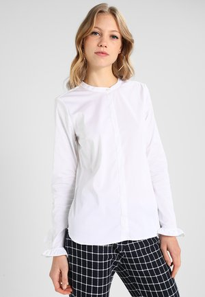 MATTIE - Button-down blouse - white