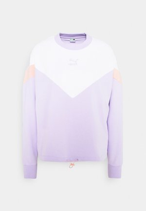 ICONIC CROPPED CREW - Bluza - light lavender