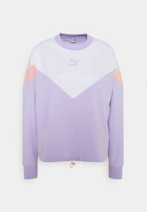 ICONIC CROPPED CREW - Sudadera - light lavender