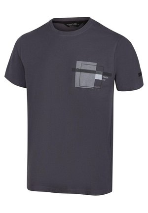 CLINE  - Print T-shirt - seal grey