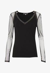 Morgan - Long sleeved top - noir - 5