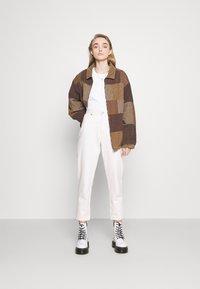BDG Urban Outfitters - PATCHWORK HARRINGTON  - Summer jacket - brown - 1