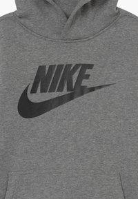 Nike Sportswear - CLUB - Bluza z kapturem - carbon heather/black - 3