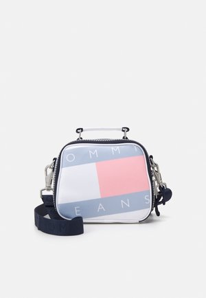 HERITAGE FLAG CROSSOVER - Handbag - white