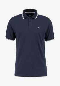 Alpha Industries - TWIN STRIPE NEW - Poloshirt - navy/white - 4