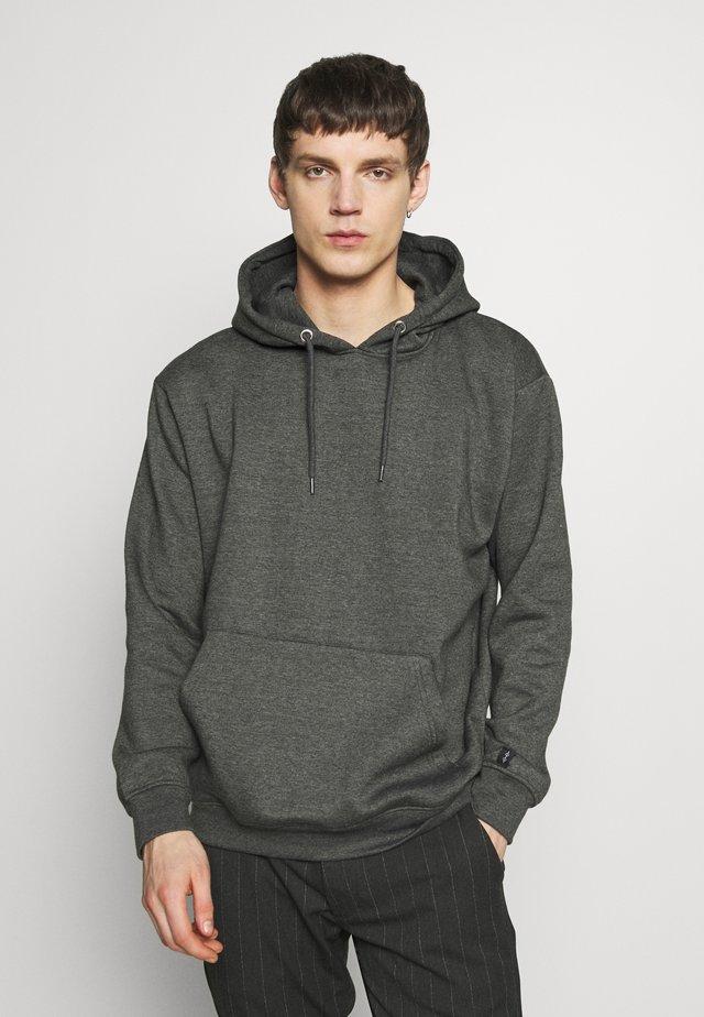 FLASH HOODIE - Bluza z kapturem - charcoal