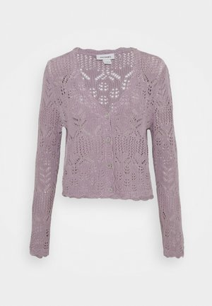 PEARL CARDIGAN - Cardigan - purple