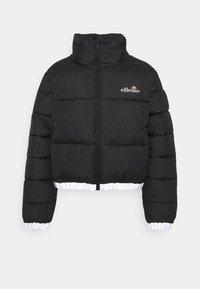 Ellesse - CROPPED PUFFER JACKET - Winter jacket - black - 0