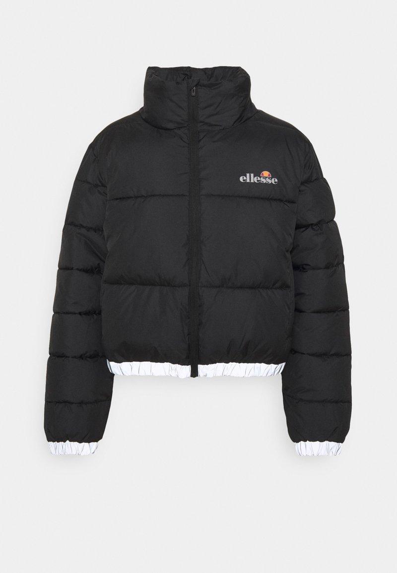 Ellesse - CROPPED PUFFER JACKET - Winter jacket - black