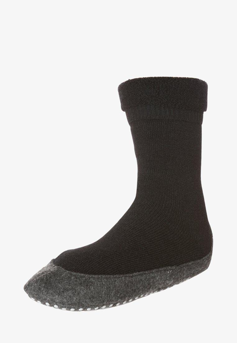 Falke - COSYSHOE - Socks - black
