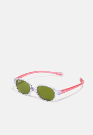 JUNIOR UNISEX - Sunglasses - transparent light violet