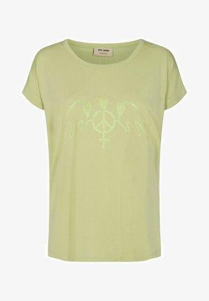 Print T-shirt - winter pear