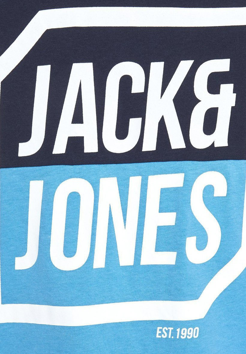 Jack & Jones Print T-shirt - sky captain JwrKn