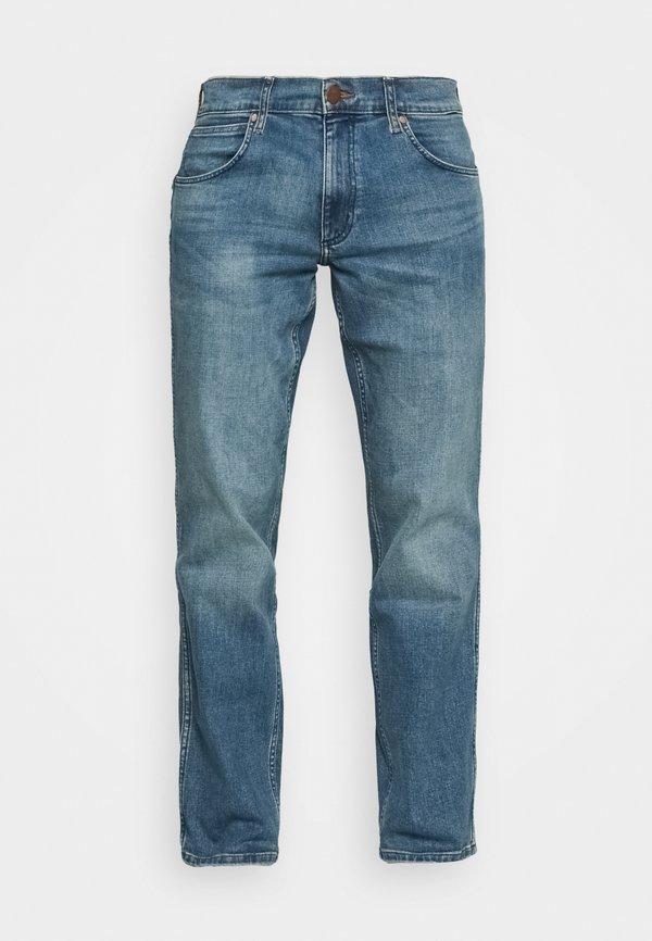 Wrangler GREENSBORO - Jeansy Straight Leg - blue fever/jasnoniebieski Odzież Męska YXVP