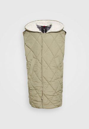 OUTERWEAR - Waistcoat - light military