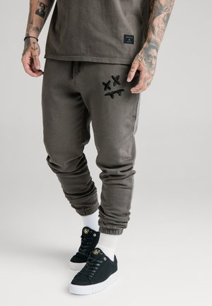 STEVE AOKI X - Tracksuit bottoms - washed grey