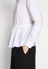 HUGO - EBRINA - Button-down blouse - white - 5