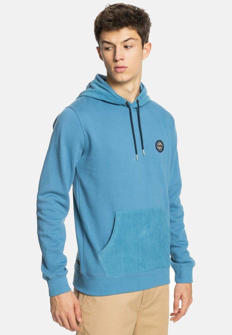 Quiksilver - MELLOW TONES - Hoodie - captains blue