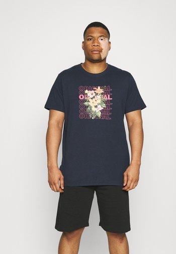 PHOTO TEE - Print T-shirt - dark blue