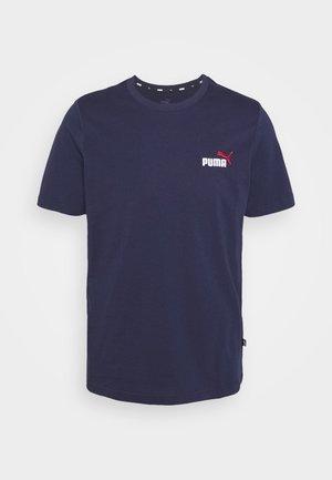 EMBROIDERY LOGO TEE - T-shirt basique - peacoat