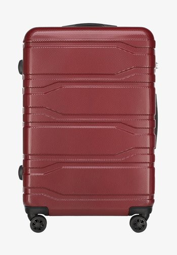 TRAIL STYLE - Wheeled suitcase - red