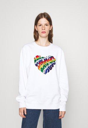 RAINBOW - Sweatshirt - white