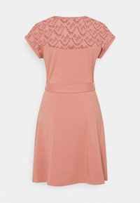 ONLY - ONLBILLA DRESS - Jersey dress - old rose - 7