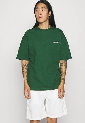 LOGO UNISEX - T-shirt basique - darkgreen