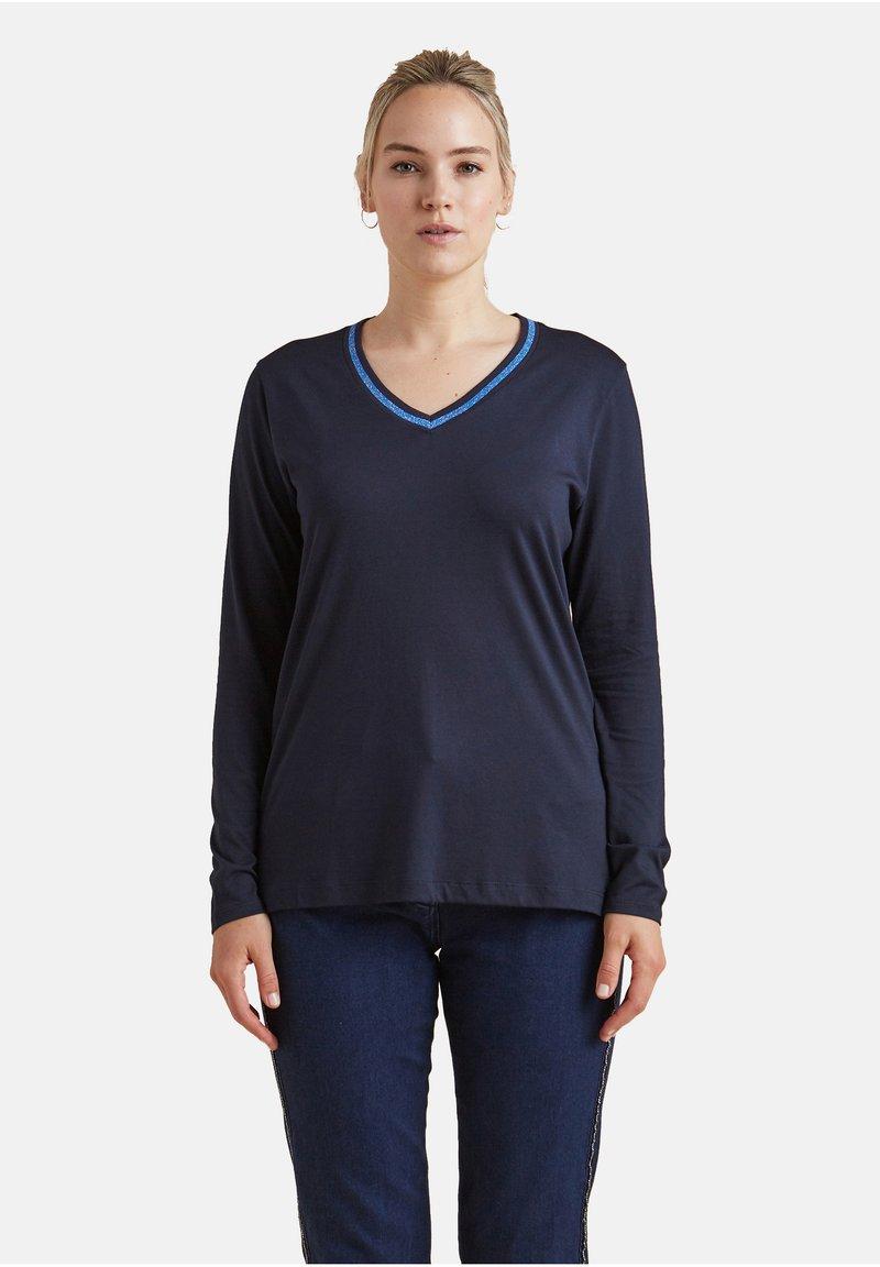 Elena Mirò - Long sleeved top - blu