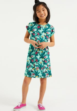 Jersey dress - multi-coloured